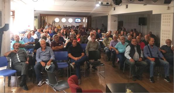 Τι ειπώθηκε στη συνέλευση των μελών της Αθήνας…